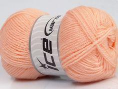 Machine washable. Lay flat to dry Fiber Content 60% Superwash Virgin Wool 40% Acrylic Light Salmon Brand Ice Yarns fnt2-43794