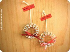 Fun mini wire-o wreaths DIY