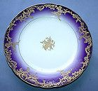 Antique Haviland CFH-GDM Limoges France Hand Painted Collector Plate