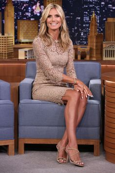 Radar Online | Heidi Klum Rolls On 'The Tonight Show'