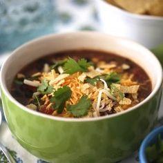Slow cooker chicken enchilada soup I Heart Nap Time | I Heart Nap Time - Easy recipes, DIY crafts, Homemaking