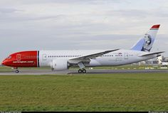 Norwegian's newest 788 EI-LNH delivered a few days ago!