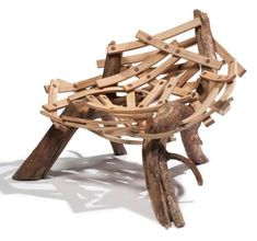 I can just see the first kid that visits my house being hopelessly tangled in this within 10 minutes.... -aisi 100 Seriously Silly Seats - From Wheelbarrow Recliners to Fast Food Furniture (TOPLIST)