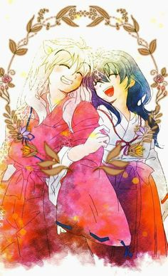 Wow  hold the phone inuyasha is smiling. Like a genuine smile.