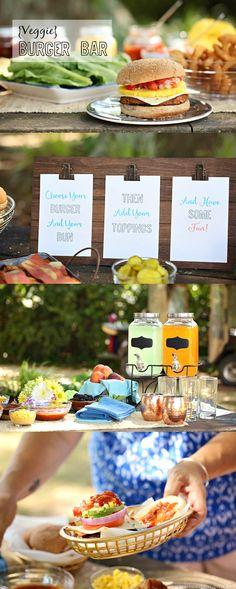Create a gorgeous veggie burger bar. #GrillWithATwist ad @target