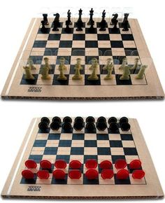 New Wave Chess & Checkers by Paradoxy Product