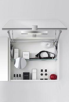Armoire de Toilette Salle de Bain | Delpha Scandinavian Bathroom, Bathroom Medicine Cabinet, Track Lighting, Ceiling Lights, Home Decor, Styles, Images, Blog, Toilets