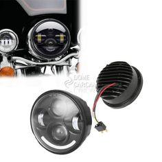 """5.75"""" Black Projector LED Headlight Bulb For Harley Dyna Daytona FXDB-D 1992"""