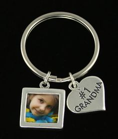My lovely kid! It's your custom keychain. Love you!