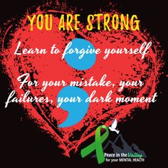 YOU ARE STRONG!   #Mentalhealthwarriors #SickNotWeak  #SuicidePrevention #bipolardisorder #breakthestigma #mentalhealth #mh #letstalk Peace In The Valley, You Are Strong, Forgiving Yourself, Be Yourself Quotes, Mental Health, Public, Wellness, In This Moment, Mental Illness