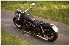 Metric Custom's Dnepr K750 Bobber - 'Charlotte' - Pipeburn - Purveyors of Classic Motorcycles, Cafe Racers & Custom motorbikes: