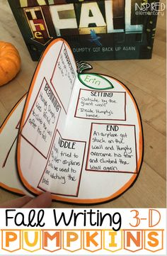 Excellent Pics Fall Writing Craftivity: Pumpkins Ideas Pumpkins in many cases are wonderful circular, bright lemon, and in autumn they must not be lacking Science Writing, Writing Activities, Writing Ideas, 4th Grade Writing, Fourth Grade, Second Grade, Grade 2, Readers Workshop, Writer Workshop