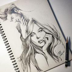 Pencil Sketch by Jason Siew | Illustrious World | #Illustriousio