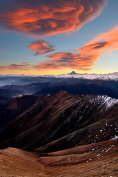 Lenticular clouds by Marco Barone on 500px