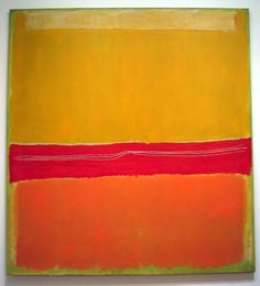 Pictures from the Museum of Modern Art Permanent Collection: No. 5/No. 22 by Mark Rothko