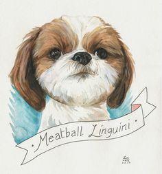 FURFACE Pet Portraits: Meat! Ball! Lin! Guini!