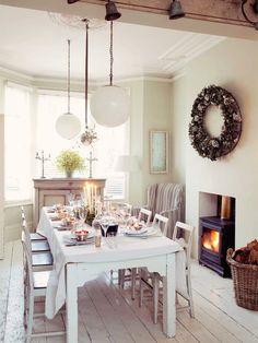 dining room using living room