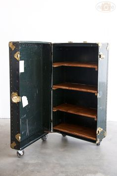 Restoration Hardware Home Decor from Studio 5 I have the perfect steamer trunk to do it with too!