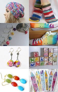 #PromotingWomen Give Me Rainbows, Darling!  by Marcia on Etsy--Pinned with TreasuryPin.com