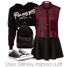 """""""Stiles Stillinsky inspired outfit/Teen Wolf"""" by tvdsarahmichele on Polyvore"""