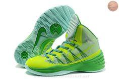 reputable site 331ae 0536b Nike Hyperdunk 2013 Fluorescent Vert Nike Kicks, Green Basketball Shoes,  Kevin Durant Basketball Shoes