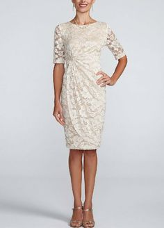 mother of the bride dress- something like this would be amazing on you!
