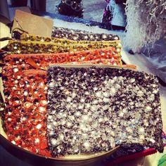 Gemstone pouches .