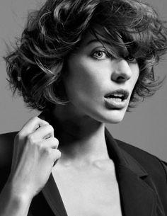#short hair   MiLLa JoVovich