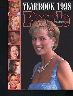 "People Yearbook ""Princess Diana"" 1998 by Time-Life Books Editors HARDCOVER"