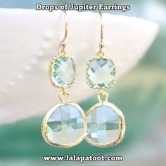 Shop Drops of Jupiter Earrings www.lalapatoot.com/earrings #lalapatoot #jewelry #earrings #women #fashion