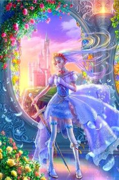 Takaki is a digital artist who works on beautiful fantasy and fare tale characters. As a young child she was fascinated by birds,the beautiful creatures Fantasy Anime, Chica Fantasy, Fantasy Women, Fantasy Girl, Disney Marvel, Photo Manga, Illustration Noel, Imagenes My Little Pony, Beautiful Fantasy Art
