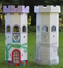 Картинки по запросу cardboard castle