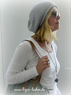 Handgestrickte Mütze aus Seide und Kaschmir http://de.dawanda.com/product/80886039-Beanie-aus-Seide-und-Kaschmir