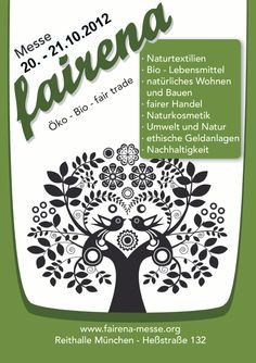 fairena eco exhibition 2012 Münich