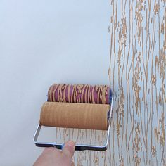 The Painting Tool That Will Replace Your #Wallpaper: While stencils have long ruled the roost as the best paint-driven alternative to wallpaper, we've discovered a much more efficient way to get the same results.
