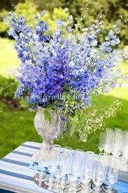 Resultado de imagem para blue flower decoration