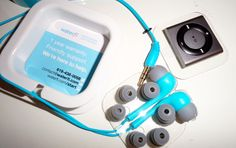 I'm in utter love with my Waterproofed iPod Shuffle Swim Kit, I can now swim for much longer without dying of boredom!