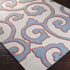 Hand-tufted Cove Rug | Overstock.com Shopping - The Best Deals on 7x9 - 10x14 Rugs