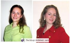 These photos were taken on the same day. #imagearchitect #makeovers #style