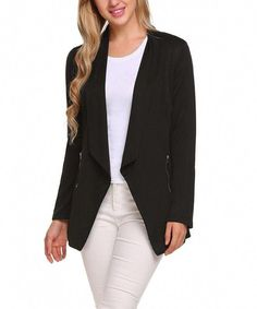 Hilization Womens Slim Long Sleeve Notch Lapel Belted Duster Long Trench Coat