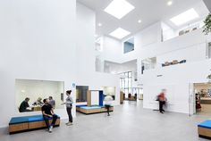 UCN Campus in Aalborg (DK) is a vision of an educational hub bringing together several specialized study programs under one roof. Faced with the demands for an alternative and sustainable learning environment, ADEPT and Friis & Moltke have worked closely with both staff and students to design...