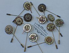 Steampunk Hat Pin -...