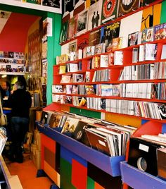 Inside Honest Jon's record store -picture sourced from the excellent music blog belonging to Cartilage records.