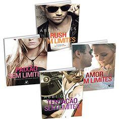 Kit Livros - Paixão sem Limites  + Rush sem Limites  + Amor sem Limites  + Tentação sem Limites
