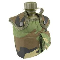 Military camping & survival gear is affordable & durable. Perfect for your next outdoor adventure, shop army surplus camping & survival equipment online. Camping And Hiking, Camping Survival, Hiking Gear, Survival Gear, Survival Equipment, Canteen, Woodland, Army, Outdoors