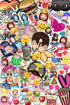 Fondo de pantalla creado por mi #emojis -NancyR.
