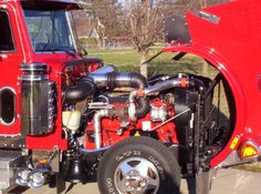 A little while back we wrote about a Dodge Peterbilt pickup conversion. It was pretty impressive. Little did we know at the time that someone else was working on another Peterbilt pickup, this time… Mini Trucks, Peterbilt, Classic Mini, Pickup Trucks, Chevy, Engineering, Ford, Gardens, Models