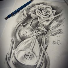 hourglass shaped tattoo - Google Search