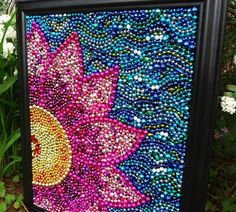 recycle mardi gras beads or any beads