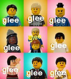 Lego Glee